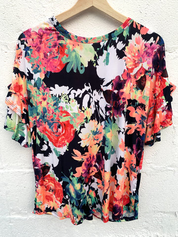 Jennifer Floral Top