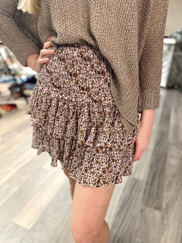 Colby Ruffled Smocked Skirt/Top
