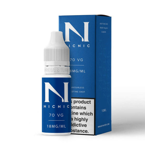 NicNic Shot 18mg 70/30 10ml