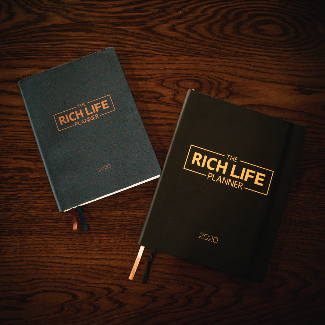 2020 RICH LIFE PLANNER (PRE-ORDER) *Ships 12/19