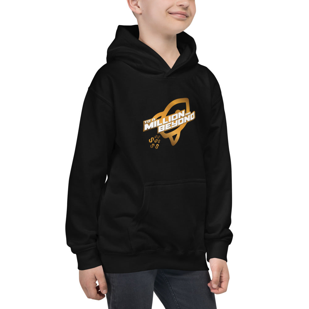 """To A Million And Beyond"" Kids Hoodie"