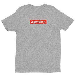 """Legendary."" Box Logo Short Sleeve T-shirt"