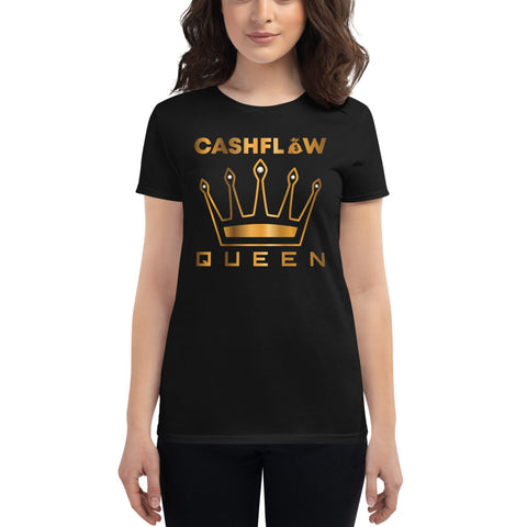 """Cashflow Queen"" Women's T-Shirt"