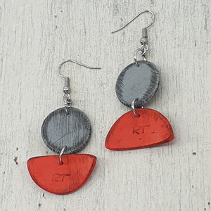Inise Sail Earrings -  Floating Away - Various Colours