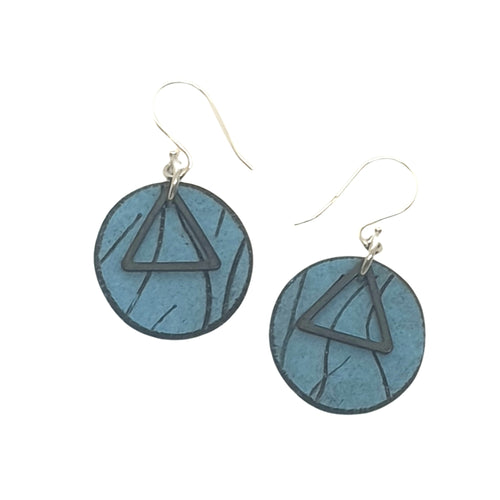 Inise Isle Earrings - Blue
