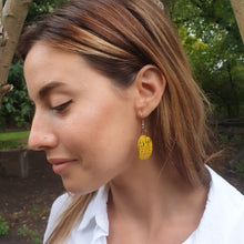 Load image into Gallery viewer, Odalys Earrings - Yellow Black