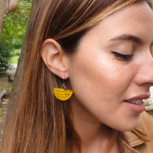 Load image into Gallery viewer, Lex Sail Earrings - Yellow Black