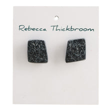 Load image into Gallery viewer, Fancy a Rhomba Polymer Clay Handmade Stud Earrings