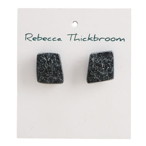 Fancy a Rhomba Polymer Clay Handmade Stud Earrings