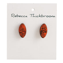 Load image into Gallery viewer, Orange Nuggets...Polymer Clay Handmade Stud Earrings