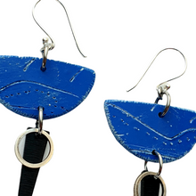 Load image into Gallery viewer, Moia Strikes Earrings - Blue