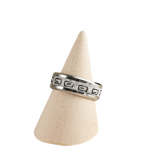 RTC Men's Ring - Size 10.5 / UK U1/2 Polymer Clay Inlaid - Various Colours Available
