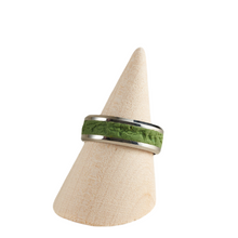 Load image into Gallery viewer, RTC Men's Ring - Size 10.5 / UK U1/2 Polymer Clay Inlaid - Various Colours Available