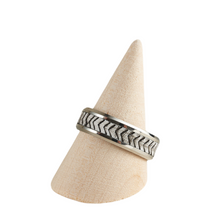 Load image into Gallery viewer, Sleek and On Trend Men's Unique Rings - Size 14 / UK Z+3 Various Colours Available