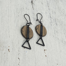 Load image into Gallery viewer, Musgum Huts Handmade Polymer Clay Statement Dangle Earrings