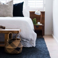 Charcoal Jute Rugs - Various Sizes - Simply Hygge Homewares