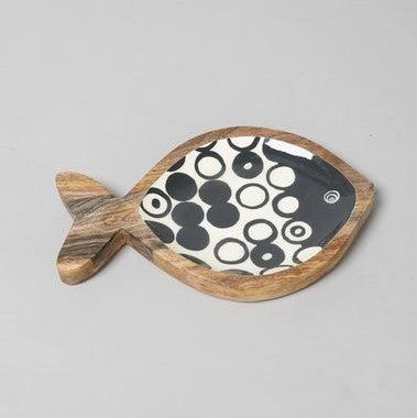 Fishy Wooden Platter - Simply Hygge Homewares