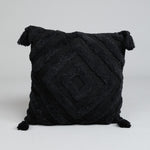 Kasbah Boho Cushion - Charcoal - Simply Hygge Homewares