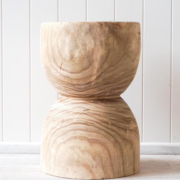 Jax Rustic Timber Stool