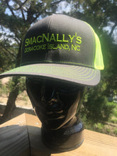 Neon Yellow and Grey SmacNally's Hat