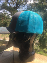 Cool Blue and Grey SMX hat