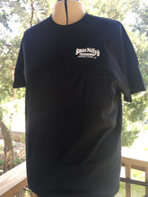Men's Black Crewneck T-shirt with original logo