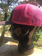 Pink and Grey SMX hat