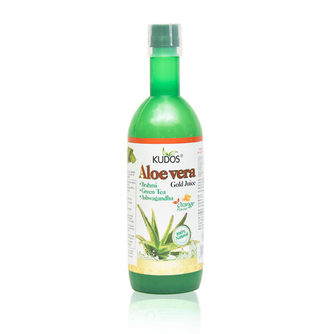 Aloe Vera Gold Juice (Orange Flavour)