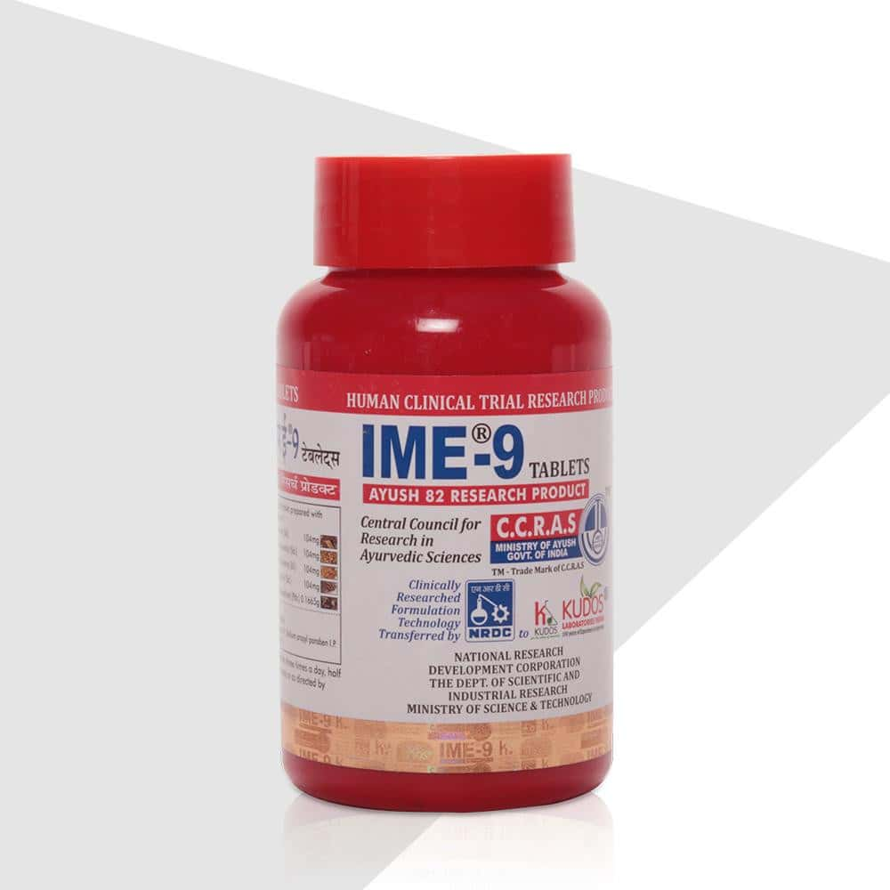 Ime-9 Tab - 4 Months Pack (Free Glucometer)