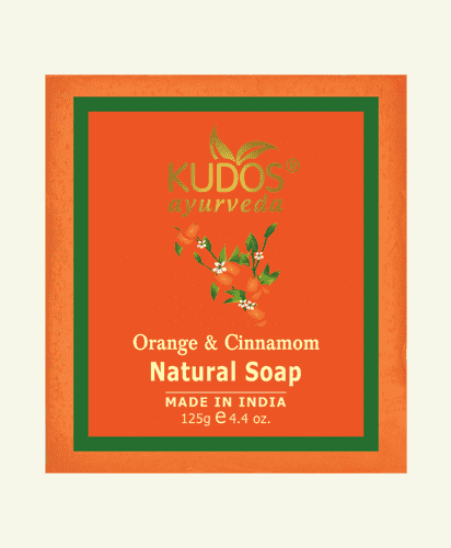 Orange & Cinnamom- Natural Soap