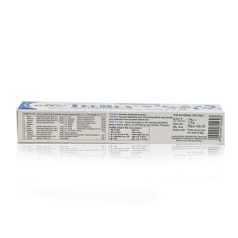 Teerex Gel Toothpaste- Multi-Benefit Toothpaste