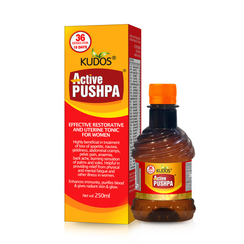 Active Pushpa-Effective Uterine Tonic for Women