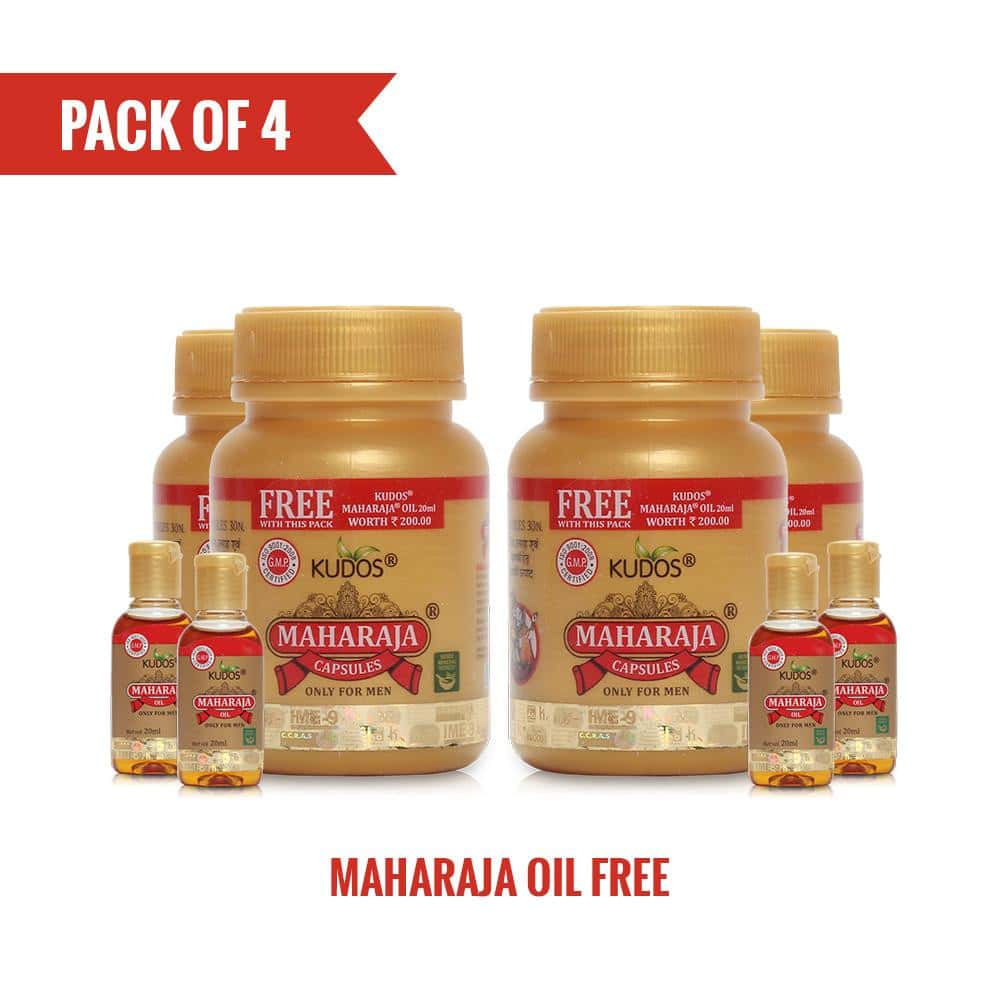Kudos Maharaja Caps (Pack of 4)