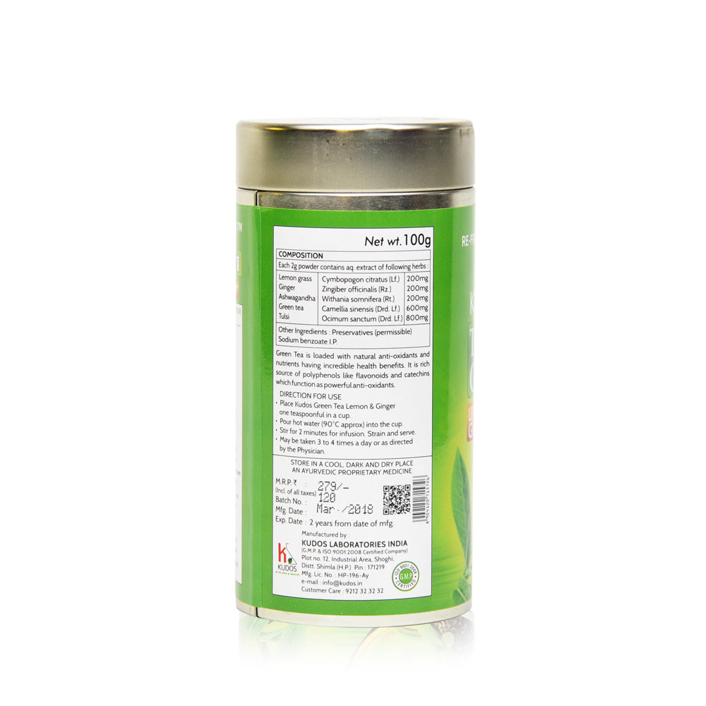 Tulsi Gold Green Tea