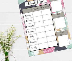FREE meal planning template