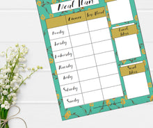 'Inspire' Meal Plan Template Collection