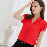 Women Shirt Chiffon - Fashionz Shop