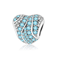 Classic Beads Love/Heart Charm 925 Sterling - Fashionz Shop