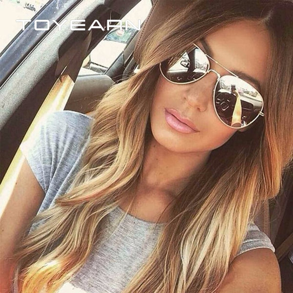 TOYEARN Vintage Classic Brand Designer Men's Pilot Sunglasses Women Men Driving UV400 Mirror Sun Glasses Female Oculos de sol,,Fashionz Shop,Fashionz Shop