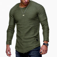 Long Sleeve Printed Camouflage T- Shirt - Fashionz Shop