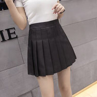 Summer High Waist Pleated Skirt