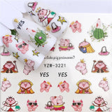 Colorful Nail Art Stickers - Fashionz Shop