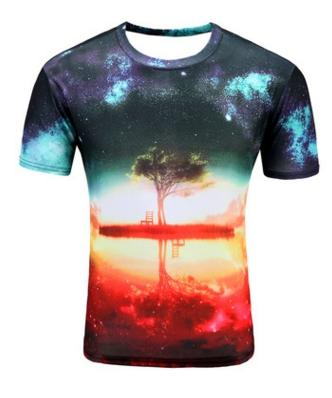 Nature Lover Print T-Shirt