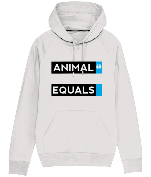 Animal Equals Block Hoodie