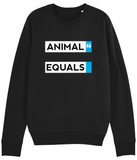 Animal Equals Block Sweater