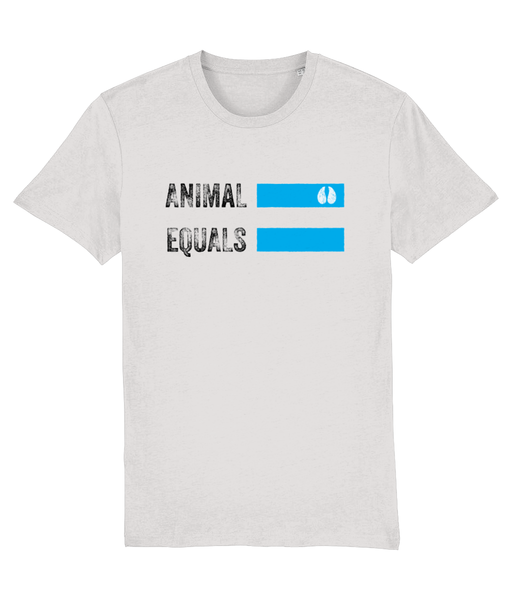 AnimalEqualsOriginalLogoT-Shirt-White