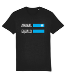 AnimalEqualsOriginalLogoT-Shirt-Black
