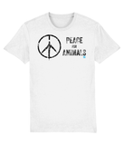 Peace for Animals Peace Sign (Chicken Foot Print)