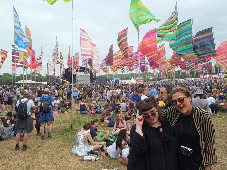 Glasto 2017: On the Road with Miss Katie Cupcake
