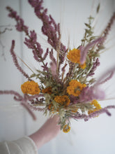 Natural hand tied posy